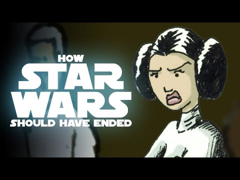 How Star Wars Episode IV Should Have Ended Video