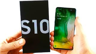 Samsung Galaxy S10 Unboxing!