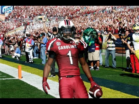 Outback Bowl Highlights - South Carolina vs. Michigan