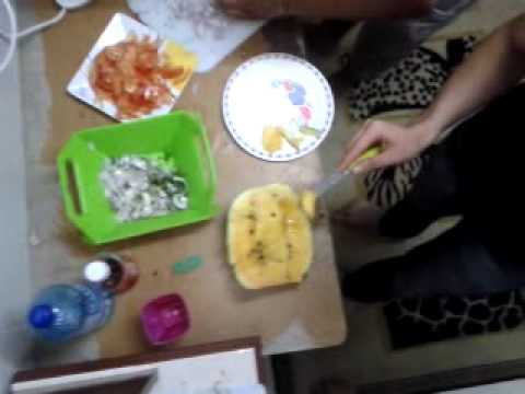 Tajik guys celebrating birthday in Malaysia ( cooking time)