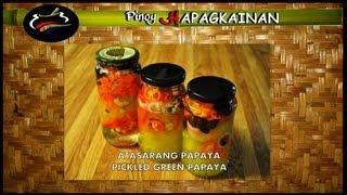 Cooking | ATSARANG PAPAYA ESPESYAL Pinoy Hapagkainan | ATSARANG PAPAYA ESPESYAL Pinoy Hapagkainan
