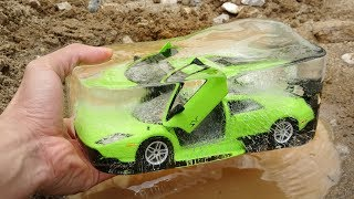 Toy Cars Getting Frozen and Unfrozen | Video for Kids G159M