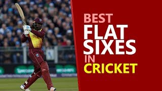Best Flat Six in Cricket || Amazing Sixes