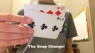 The Snap Change: Color Change And Card Trick Revealed