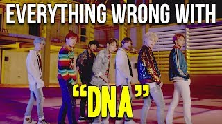 "Everything Wrong With BTS - ""DNA"""