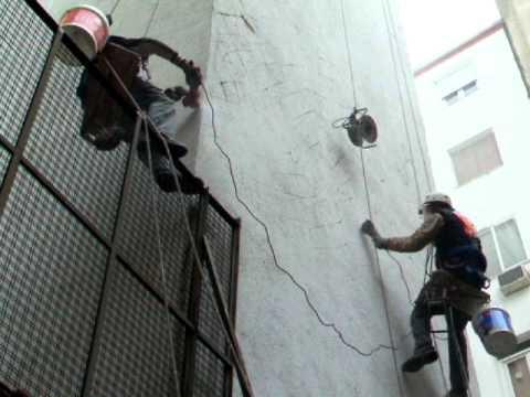 V deo preparaci n paredes para colocar aislante t rmico en - Mejor aislante termico para paredes ...