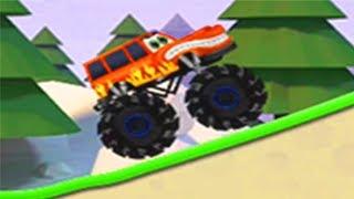 Đua xe, xe hơi quái vật  | monster trucks kids game - Kids play