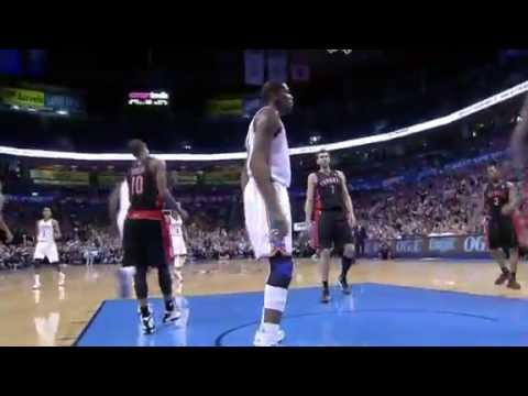 Kevin Durant POSTERIZES Rookie