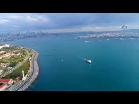 İstanbul'da Yağmur Sonrasında Oluşan Manzaralar Havadan Görüntülendi