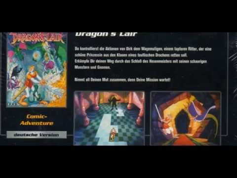 2 in 1 pack -  dragon's lair - space ace for PC (Windows)(slideshow)