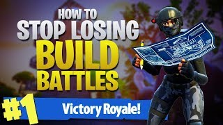 HOW TO WIN | How To Win All Your Build Battles! (Fortnite Battle Royale)