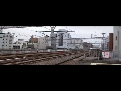 新幹線 700系 通過シーン