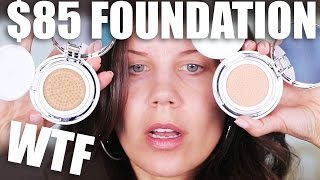 $85 CUSHION FOUNDATION ... WTF | First Impressions