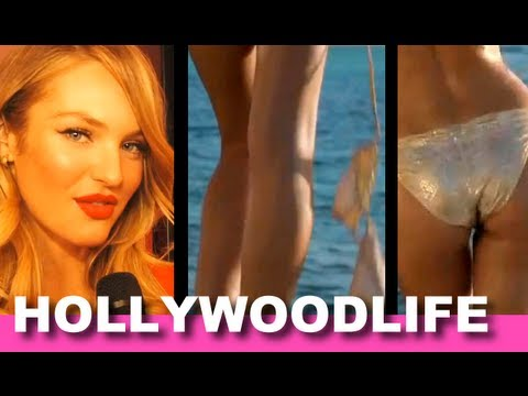 Candice Swanepoel Victoria's Secret Swim -- What's Her Fave Cover?