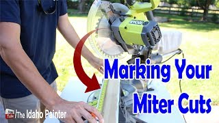 Marking & Making Your Miter Cuts