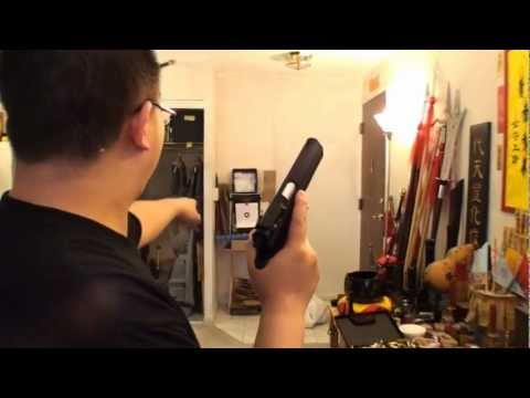 Jericho 941 4.5mm Co2 Air Pistol (BB Gun) Shooting Target Test
