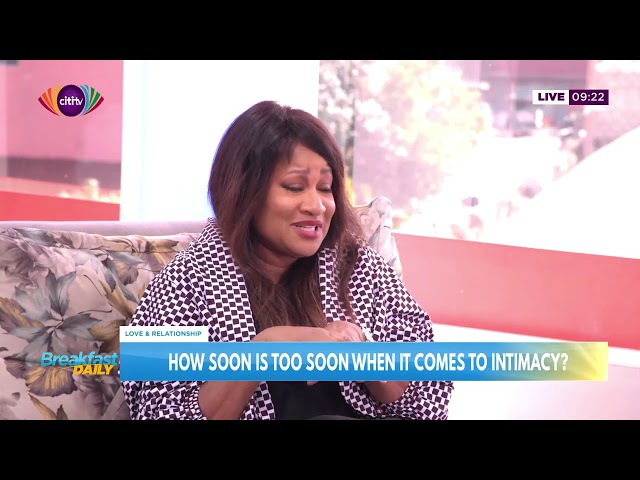 HOW SOON IS TOO SOON FOR INTIMACY IN RELATIONSHIP