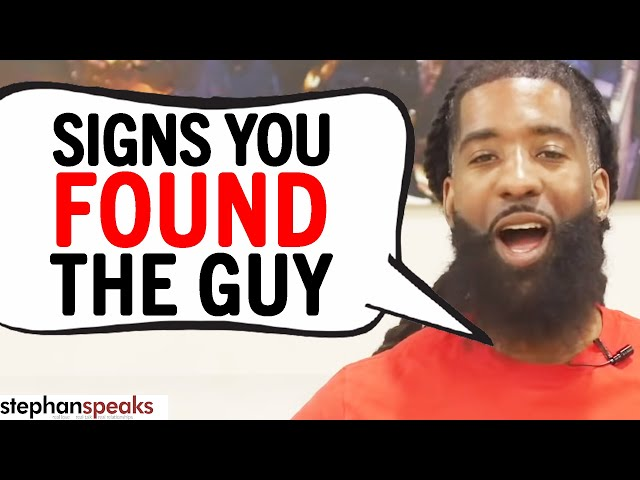 3 BIG SIGNS You Found Your SOULMATE | Stephan Speaks