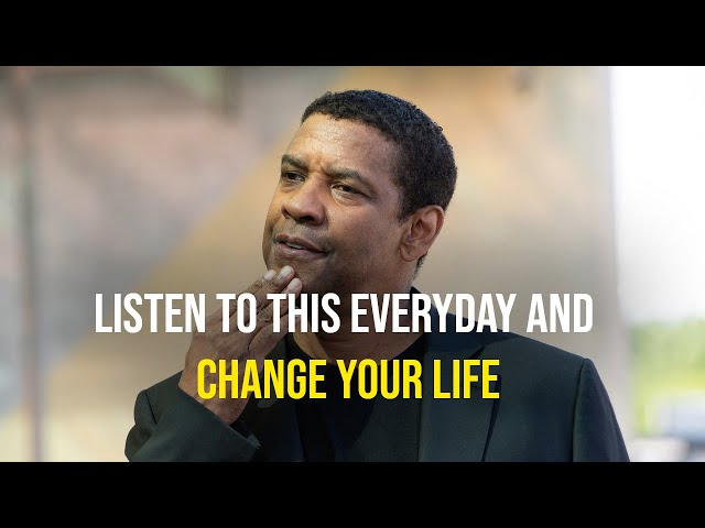 Denzel Washington's Life Advice Will Leave You SPEECHLESS  LISTEN THIS EVERYDAY AND CHANGE YOUR LIFE