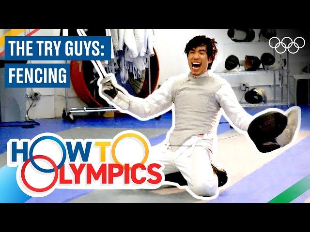 How Olympic Fencing Works ft. The Try Guys