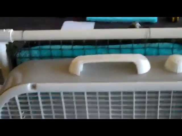 Easy Evaporative Cooler, Do It Yourself