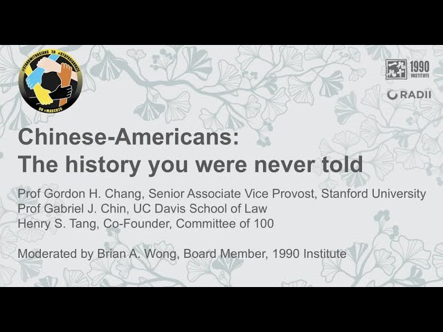 Chinese Americans: The History You Were Never Told