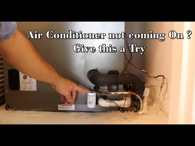 Air Conditioning not turning on ? The AC float switch might be the problem .