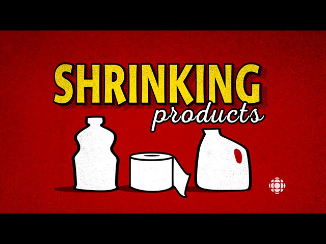 Shrinking products: Food packaging tricks to watch for (CBC Marketplace)