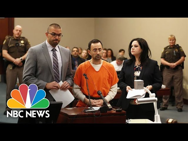 Larry Nassar Victims Speak Out Ahead Of Sentencing | NBC News