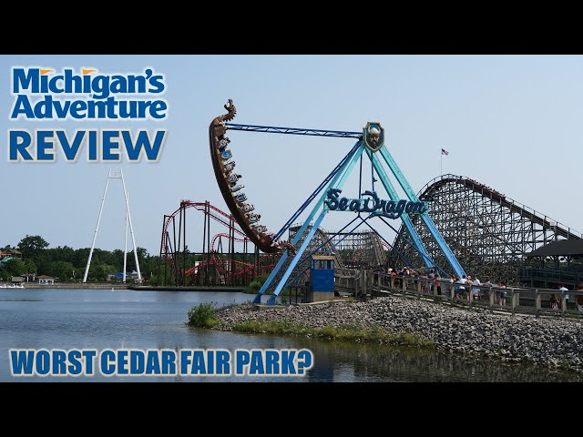 Michigan's Adventure Review   Is This Really the Worst Cedar Fair Park?