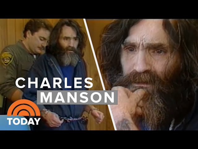 Mass Murderer Charles Manson's 1987 Interview In San Quentin Prison   TODAY