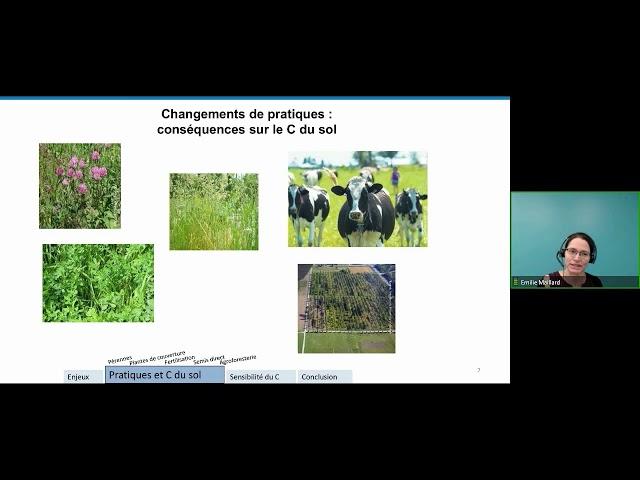 Séquestration du carbone dans les sols agricoles