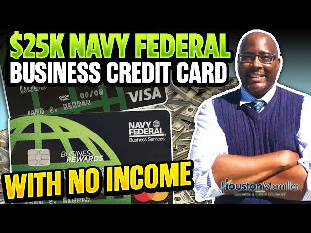 How To Open Navy Federal Business Account To Get $25k Credit Card For Bad Credit No Income 2021?