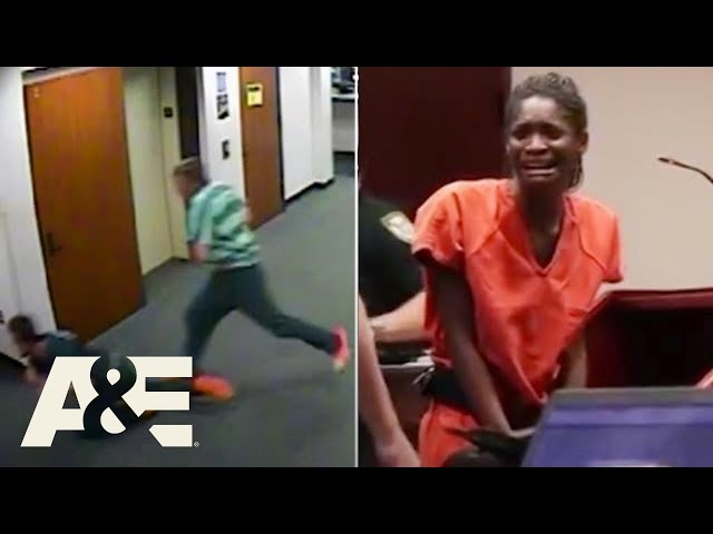 Court Cam: Most DRAMATIC Moments Of All Time   A&E