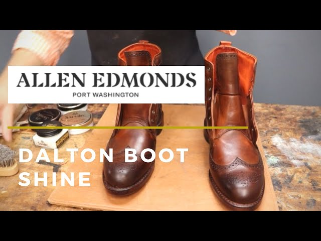 My NEW Allen Edmonds Dalton Boots | Steps I Take Before Wearing