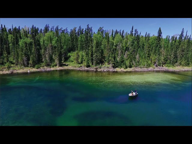 Off-Grid Ontario Fishing (Remote Outposts)!