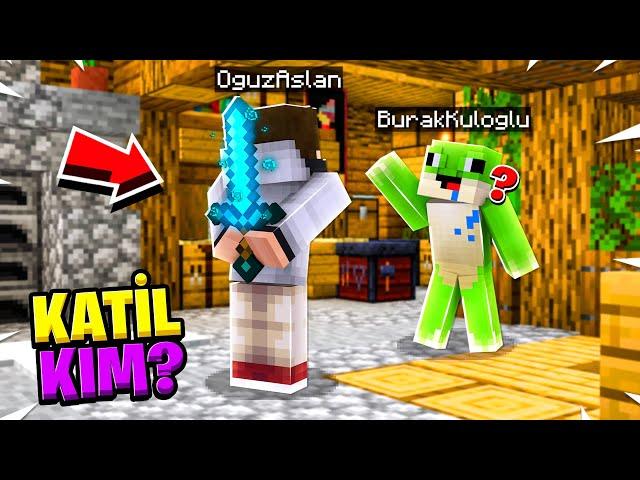 GİZLİ KATİL OLDUM - Minecraft KATİL KİM?