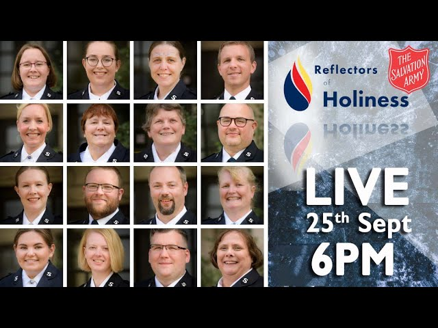 Reflectors of Holiness - 6PM   The Salvation Army