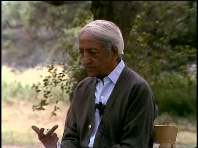 Show me how to dissolve the 'I'   J. Krishnamurti