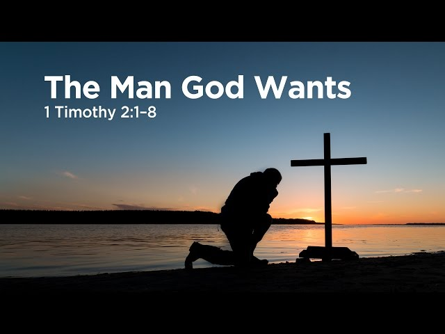 """The Man God Wants""   Pastor Steve Gaines"
