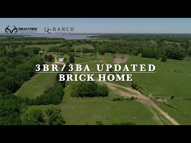 Riverfront Cattle Ranch For Sale Sawyer Oklahoma
