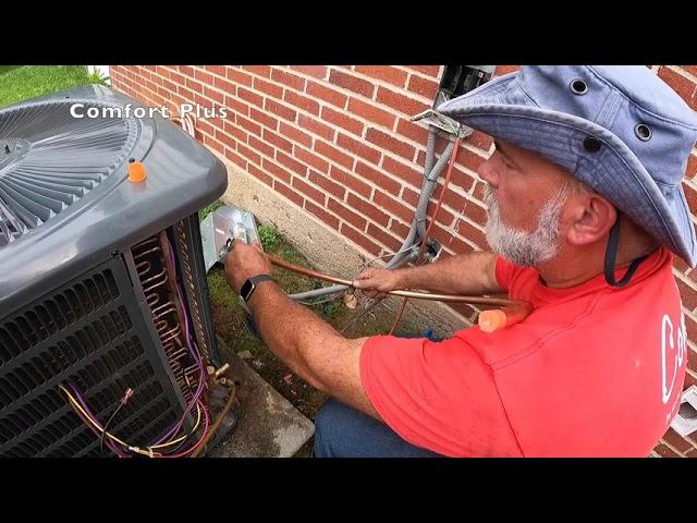 HVAC: DIY Goodman Install: Can this unit be saved?