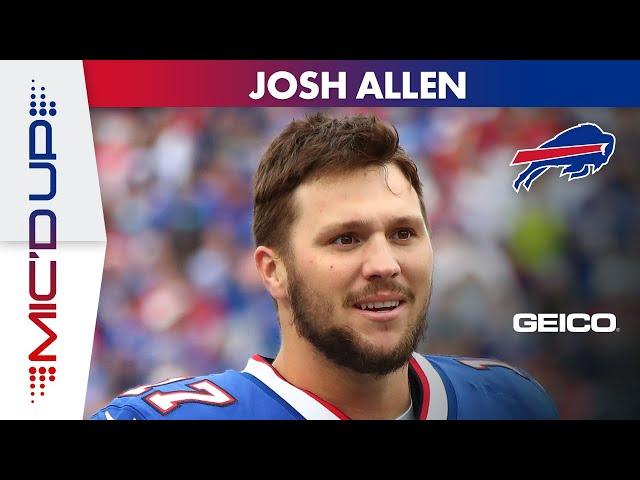 Josh Allen Mic'd Up in Buffalo Bills' Shutout Win Over Houston Texans!