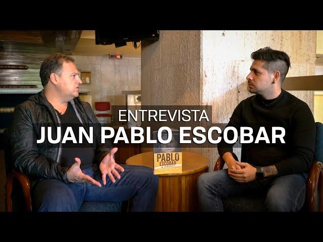 Entrevisté al hijo de Pablo Escobar: Juan Pablo Escobar Henao