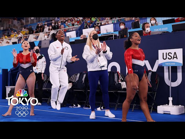Best of Day 4 at the Tokyo Olympics: U.S. earns silver without Simone Biles | NBC Sports