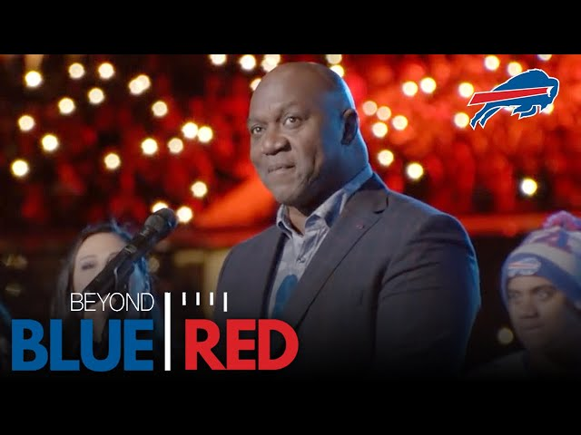 Thurman Thomas Relives Bills' Memories While Retiring His #34   Beyond Blue & Red