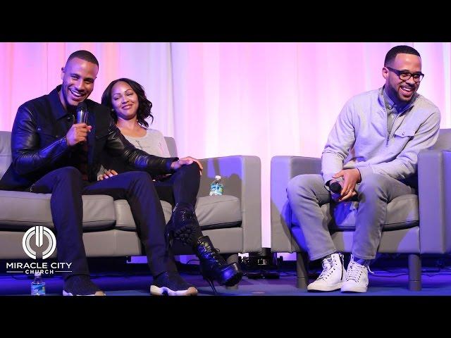 An Intimate Conversation with DeVon Franklin & Meagan Good