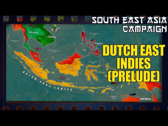 WW2 in South-East Asia   Dutch East Indies Prelude (1941)