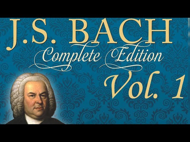 J.S. Bach Complete Edition Vol. 1