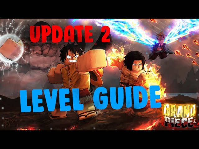 GPO UPDATE 2 1-250 LEVEL GUIDE - Grand Piece Online COMPLETE Leveling Guide